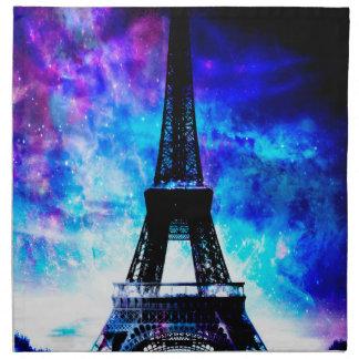 Serviettes En Tissus Rêves parisiens de création d'amants