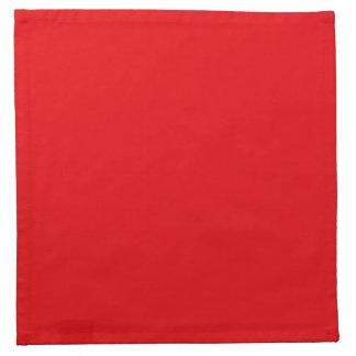 Serviettes En Tissus Rouge de baiser de célébration