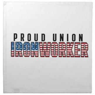 Serviettes En Tissus Serrurier des syndicats