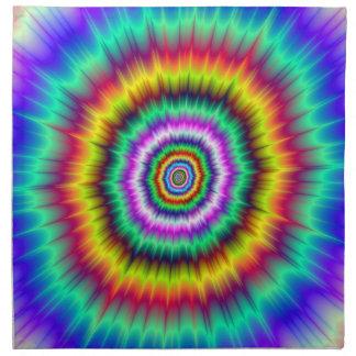 Serviettes En Tissus Souffle de couleur