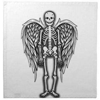 Serviettes En Tissus Squelette d'ange