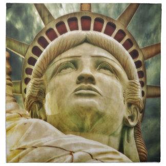 Serviettes En Tissus Statue de la liberté