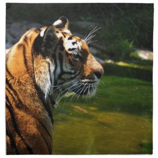 Serviettes En Tissus Tigre
