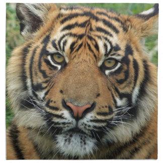 Serviettes En Tissus Tigre adulte