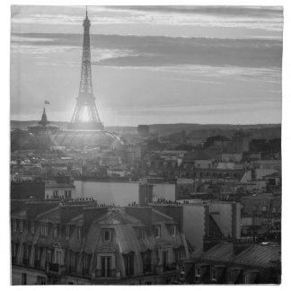 Serviettes En Tissus Tour Eiffel, Paris, France