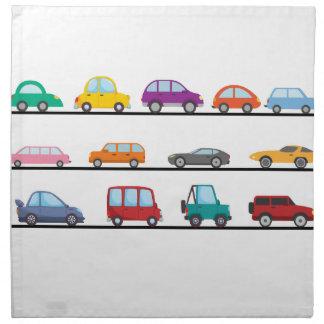Serviettes En Tissus voitures