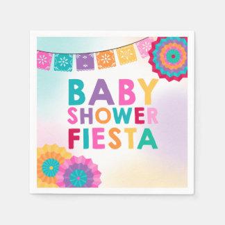 Serviettes Jetables Baby shower de Mexicain de serviette de baby