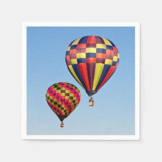 Serviettes Jetables Ballons à air chauds