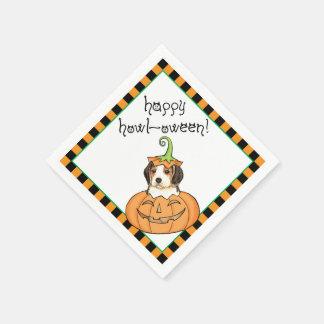 Serviettes Jetables Beagle de Halloween