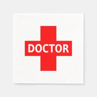 Serviettes Jetables Docteur Logo