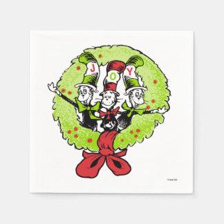 Serviettes Jetables Dr. Seuss   la joie de Noël de Grinch   Whoville