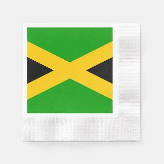 Serviettes Jetables Drapeau de la Jamaïque