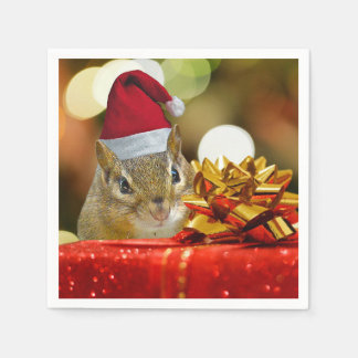 Serviettes Jetables Joyeux Noël de tamia mignonne