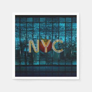 Serviettes Jetables PIÈCE EN T New York City