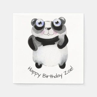 Serviettes Jetables serviette de papier d'anniversaire orienté animal