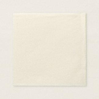 Serviettes Jetables Serviette de papier faite sur commande - Ecru