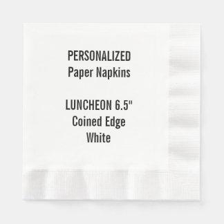 Serviettes Jetables Serviette de papier inventée par blanc