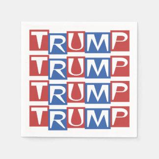 Serviettes Jetables Serviettes 2016 de partie de président élection de