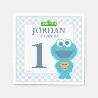 Serviettes Jetables Serviettes de papier d'anniversaire de bébé de