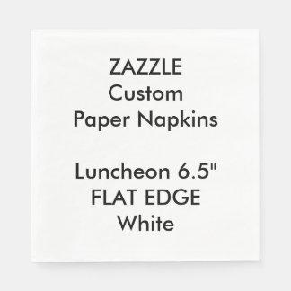 Serviettes Jetables Serviettes de papier de déjeuner simple fait sur