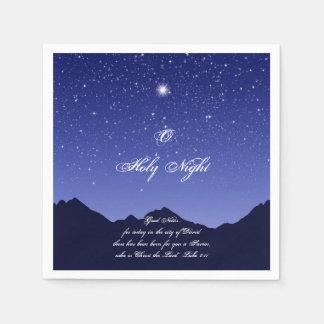 Serviettes Jetables Serviettes de papier de nuit sainte d'O