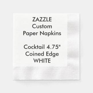 Serviettes Jetables Serviettes de papier inventées par BLANC fait sur