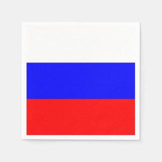 Serviettes Jetables Serviettes de papier patriotiques avec le drapeau