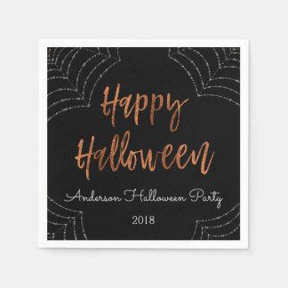 Serviettes modernes de Halloween de partie Serviettes Jetables