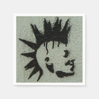Serviettes punks serviette jetable