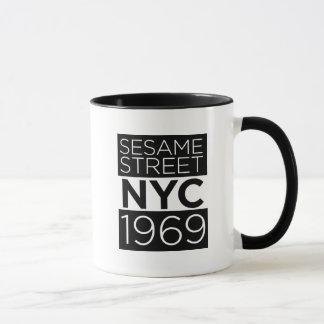 Sesame Street NYC Mug