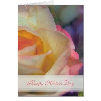 S'est levée la carte heureuse de jour de mères