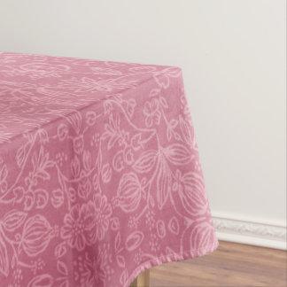 S'est levée la nappe florale de texture de tissu