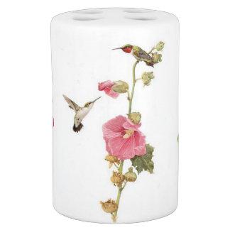 Set De Salle De Bain Animal floral de faune de fleur d'oiseaux de