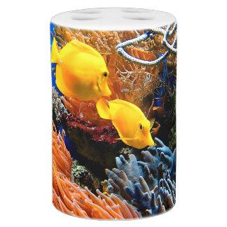 Set De Salle De Bain Corail sous-marin tropical