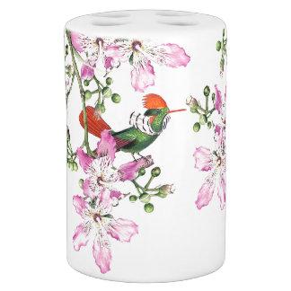 Set De Salle De Bain Ensemble de Bath de fleurs d'animal d'oiseau de