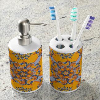 Set De Salle De Bain Support de brosse à dents de mandala et