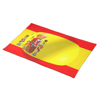 Set de table espagnol de MoJo d'Américain de drape