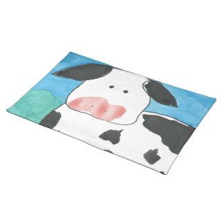 Sets de table de MoJo d'Américain de vache