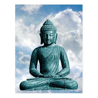 Seul de Bouddha carte postale verticale -