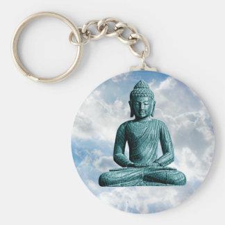 Seul de Bouddha porte - clé - Porte-clé Rond
