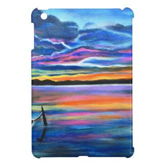 Seul gauche une peinture de bateau de paysage coque pour iPad mini