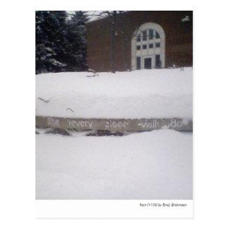 """Seul le revery suffira…"" --Emily Dickinson Carte Postale"
