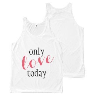 Seulement d'amour yoga aujourd'hui - débardeur de
