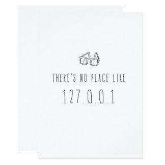 Seulement dans la carte de voeux de Silicon Valley Carton D'invitation 12,7 Cm X 17,78 Cm