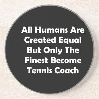 Seulement le plus bon entraîneur de tennis devenu dessous de verres