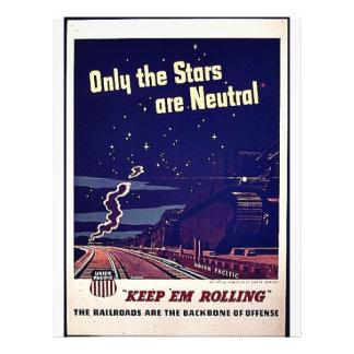 Seulement les étoiles sont neutres prospectus personnalisés