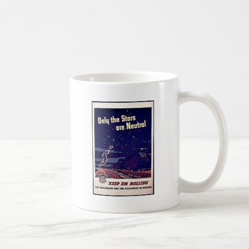 Seulement les étoiles sont neutres mug