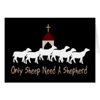 Seulement les moutons ont besoin de berger cartes