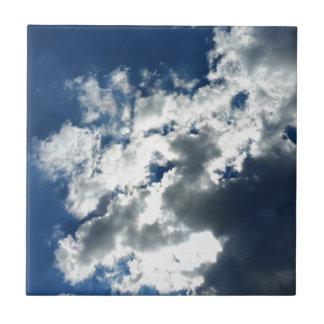 Seulement nuages carreau