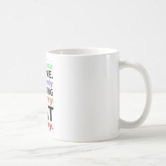 Seulement parlant à mon chat aujourd'hui #2 mug blanc